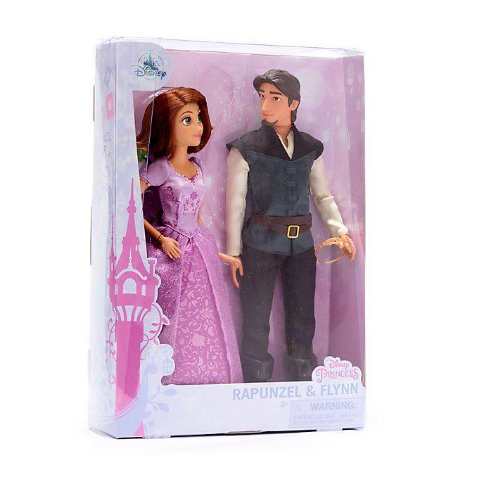 Set muñecos Rapunzel y Flynn (Enredados)