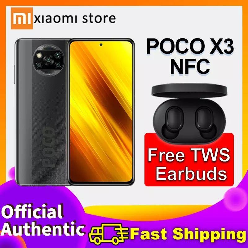 Xiaomi Poco X3 NFC 6GB + 128GB + auriculares gratis