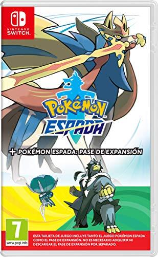 Pokémon Espada + Pase de Expansión, Amazon y Media Markt