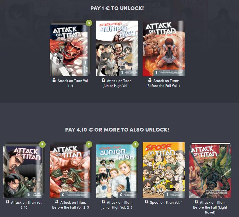 Pack Manga: Attack on Titan [cómics, libros electrónicos y audiolibros]