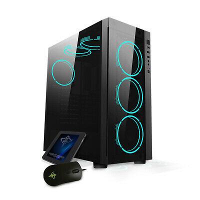 YEYIAN kit Gaming Edición DAITO: Caja + Ventilador + Ratón + SSD 240GB
