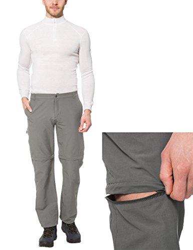 Ultrasport On Trail - Pantalones de Trekking, en gris y talla XXL