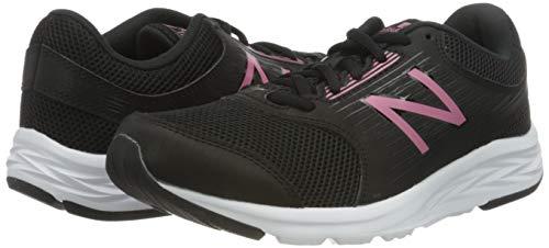 New Balance 411, Zapatillas Mujer, Negro Rosa, 44.5 EU