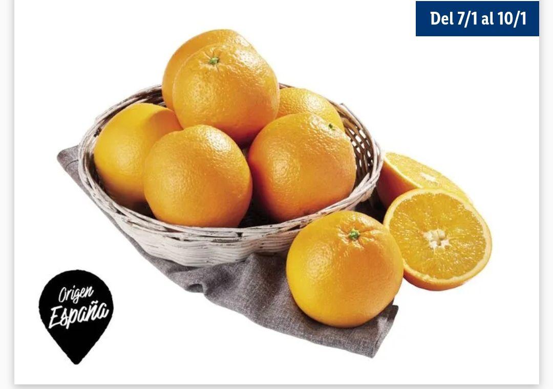 2KG de Naranja Española (Categoría 1) por sólo 0'80€ KG