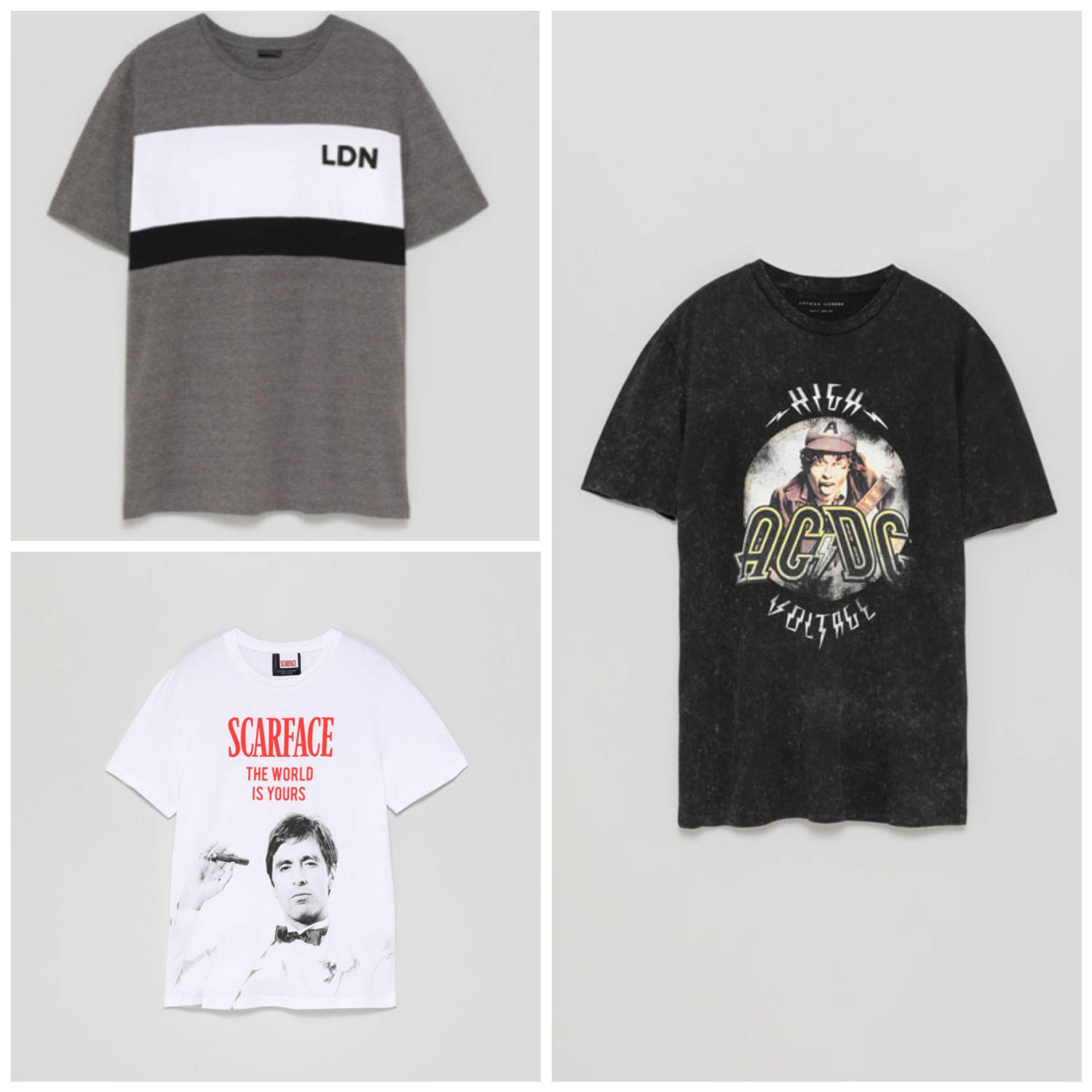 Recop. Camisetas por 2,99€ en Lefties