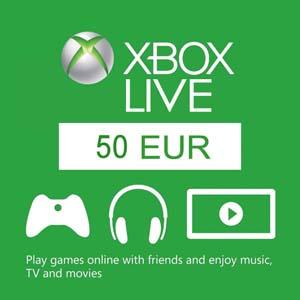 XBOX Live Gift Card EUROPE 50 EUROPA