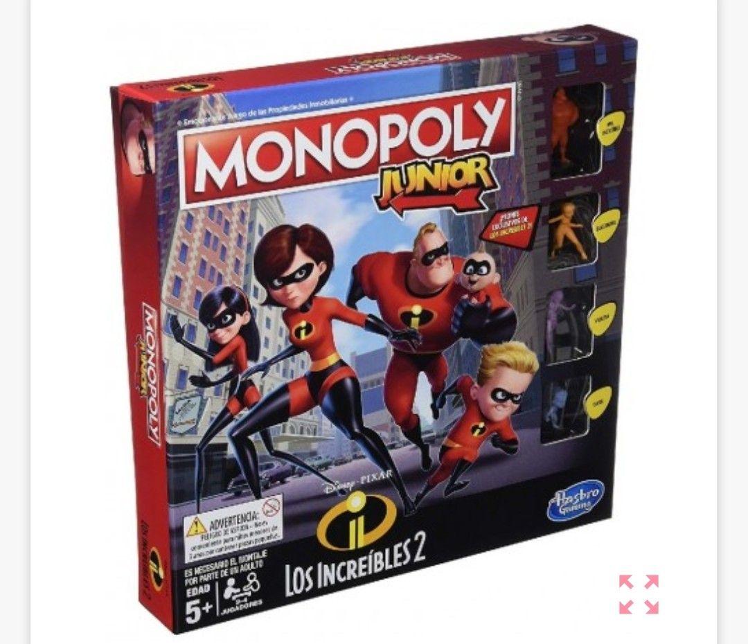 Monopoly Junior Los Increíbles