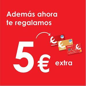5€ en tarjeta Eroski por comprar en Más Promociones