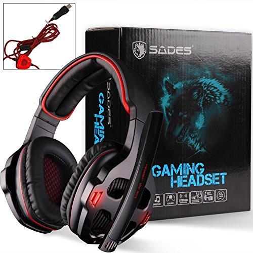 Cascos para gamers SADES SA903 7.1