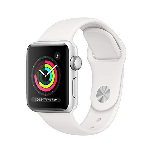 Apple Watch Series 3 (GPS) con caja de 38 mm - Blanco