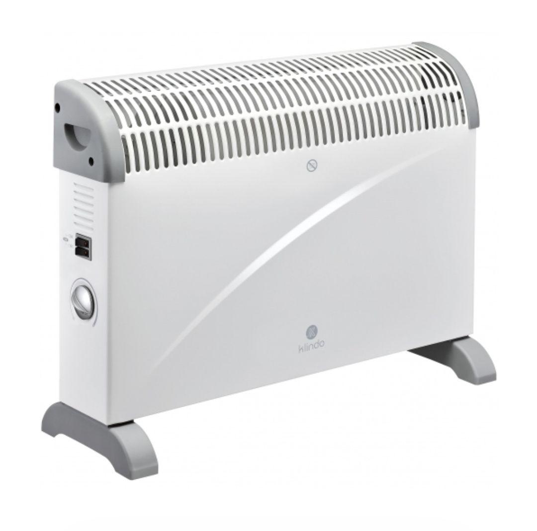 Calefactor Convector KlindoPotencia: 2.000 W y modelo con turbo sólo 24'90€