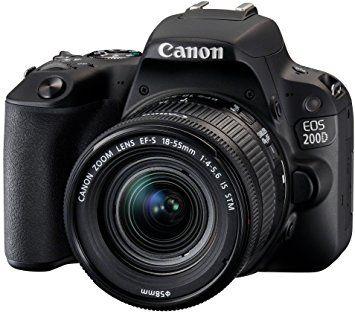 Chollazo!! Canon EOS 200d + objetivo 18-55 *Envío desde europa