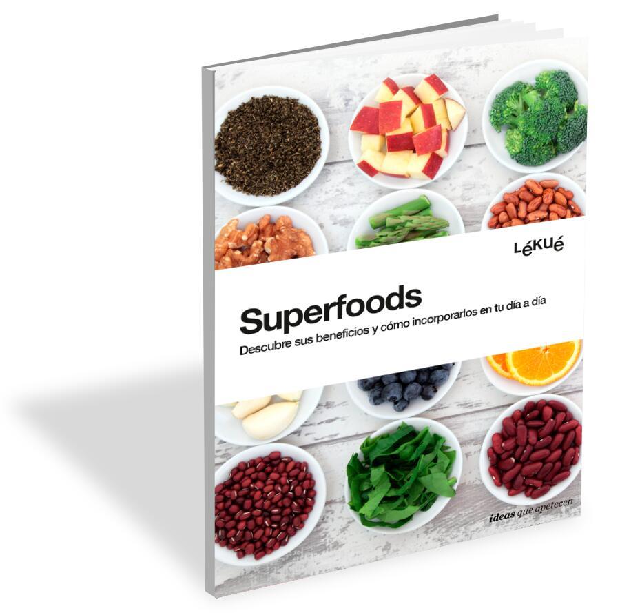 """Descarga Ebook Lekue """"Superfoods: descubre sus beneficios y cómo incorporarlos en tu día a día"""" y REBAJAS Lekue"""