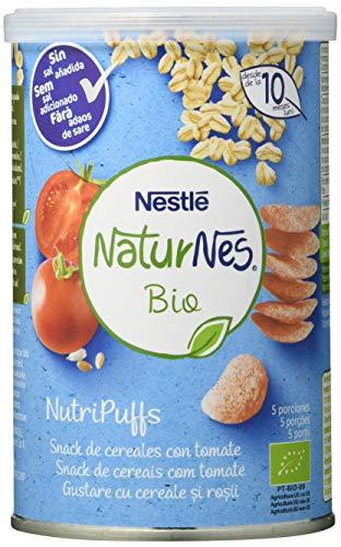 Snacks de cereales para bebés con tomate, 5 x 35g