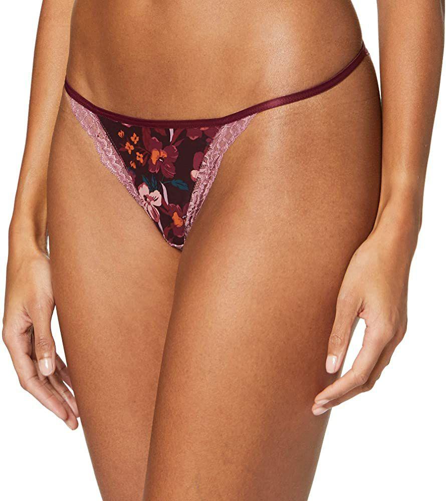 TALLA 95B - Women Secret X-mas Feminine Flower Mesh Braguita brasileña para Mujer