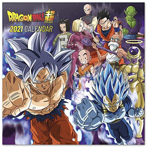 Dragon Ball. Calendario pared 2021 + Póster REGALO