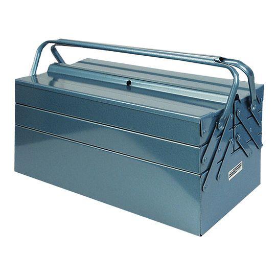 BRUDER MANNESMAN Caja de Herramientas metálica 5 compartimentos.
