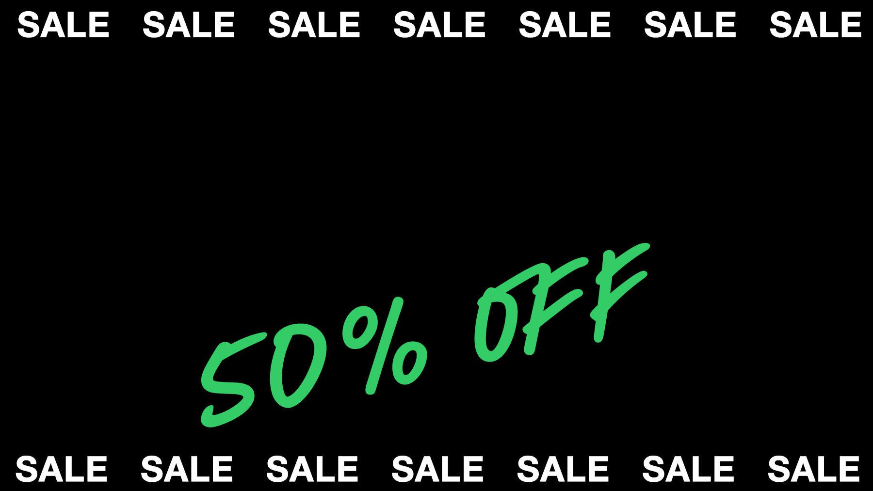 50% en productos seleccionados Lush