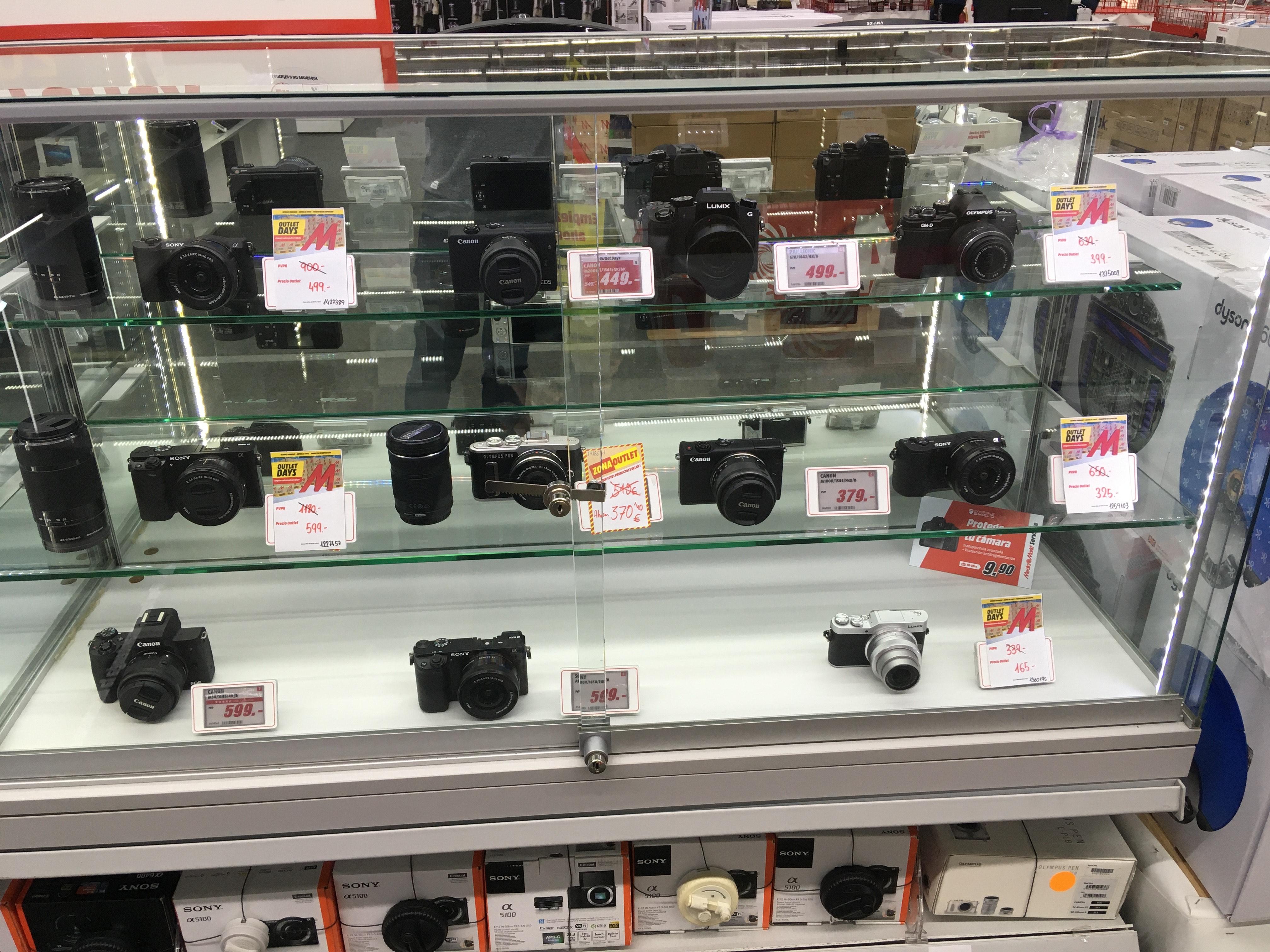 Liquidación en el departamento de Fotografía - Mediamarkt