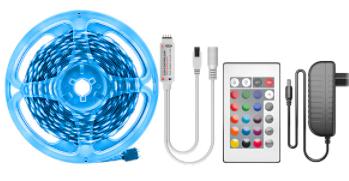 Tira LED 2,5m RGB solo 0.8€