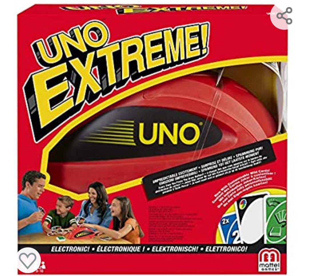 Mattel Games Uno extreme, juego de cartas