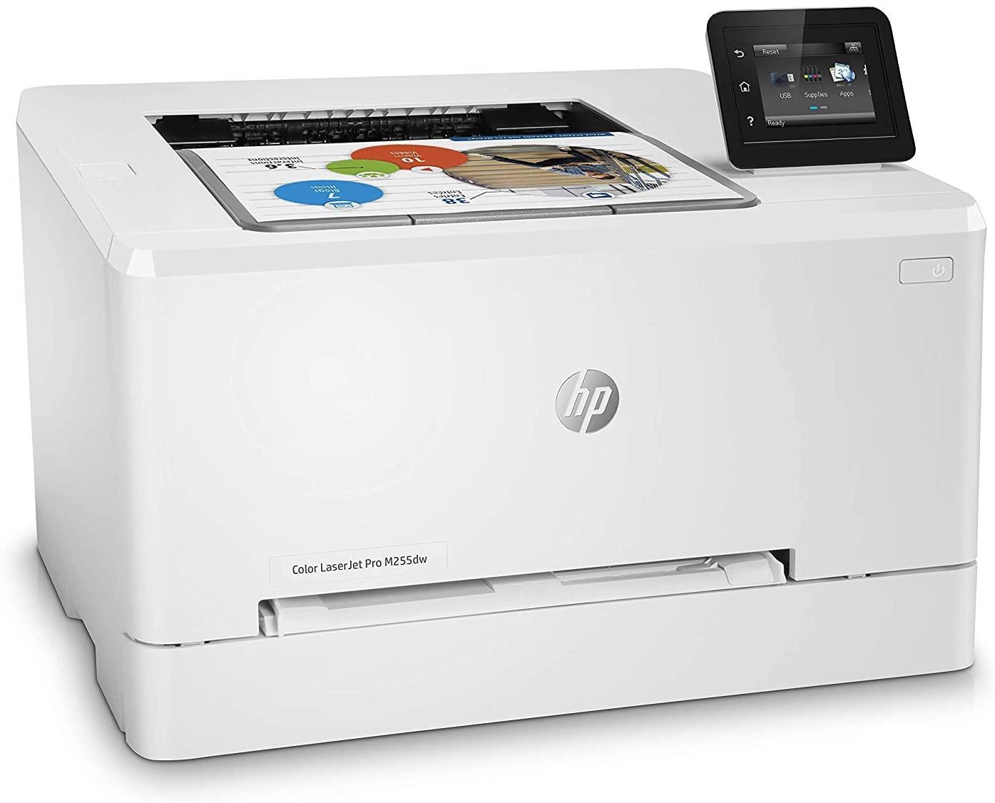 Impresora láser a color HP Color LaserJet Pro M255dw con WiFi