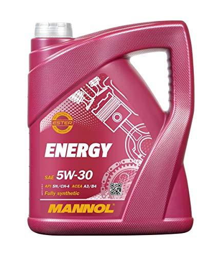 Mannol MN7511-5 Aceite de Motor Energy 5 W de 30 API SL/CF