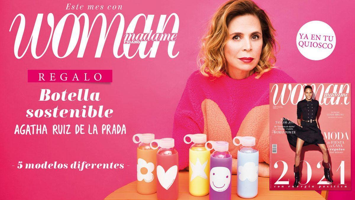 Regalo botellas Eco comprando la revista Woman de Enero ( 5 diseños diferentes )