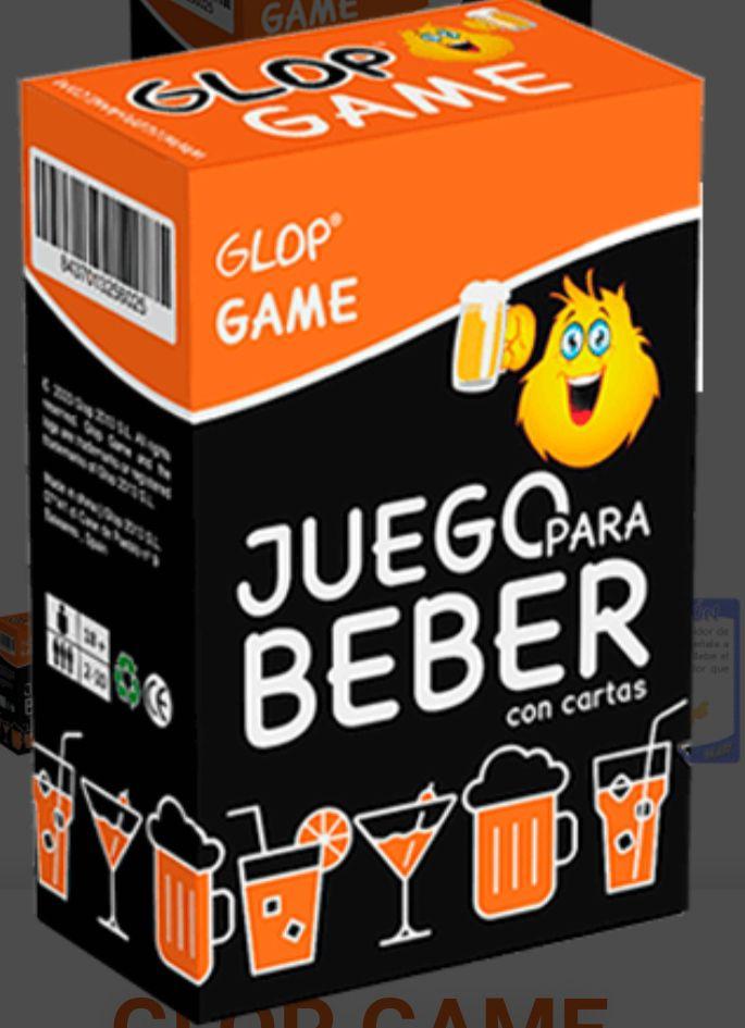 Juego Glop 500 cartas para beber. Hechas con Birra y Resaca