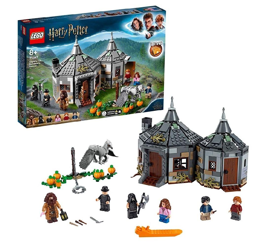 LEGO Harry Potter - Cabaña de Hagrid Rescate de Buckbeak