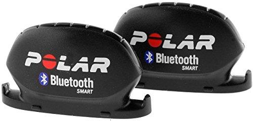 Sensor de cadencia y velocidad, Polar , Unisex, Negro, 2 Unidades