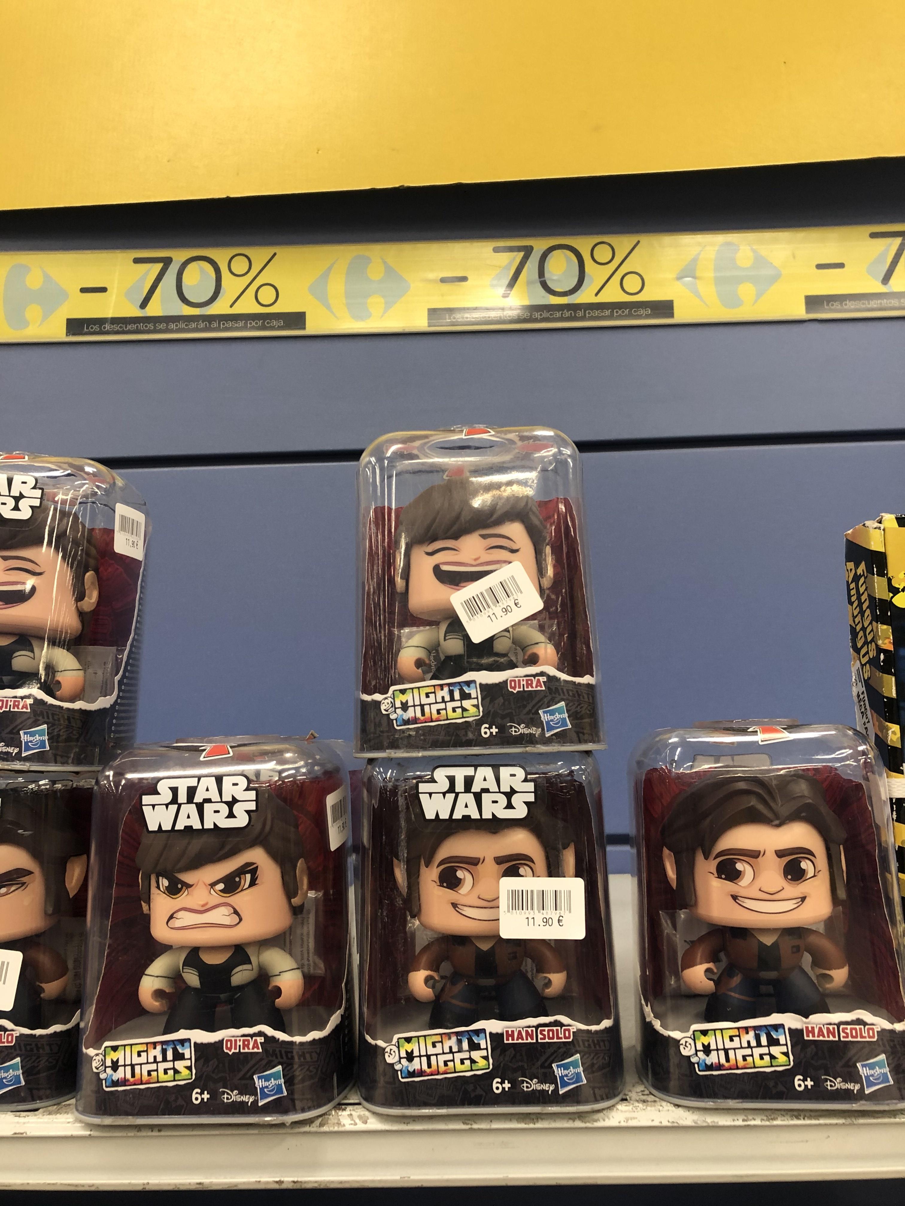 Muñecos Star Wars (CARREFOUR OUTLET JEREZ DE LA FRONTERA)