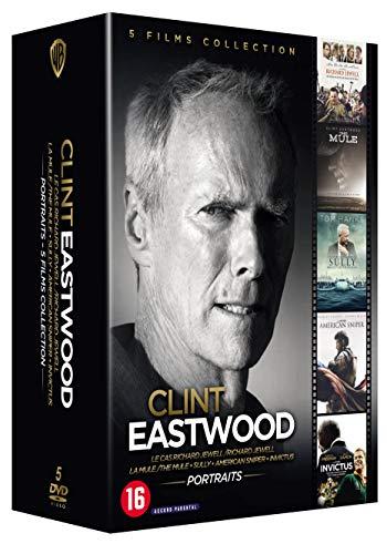 Pack 5 películas Blu-Ray Clint Eastwood Director desde Amazon Francia