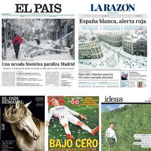 GRATIS :: Prensa - El Pais (Semanal, Negocios, Icon, Babelia e Ideas), AS, La Razón
