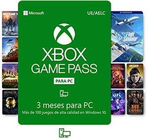 3 meses XBOX Game Pass [PC, Windows 10]