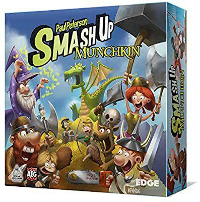 Smash Up - Munchkin, juego de cartas