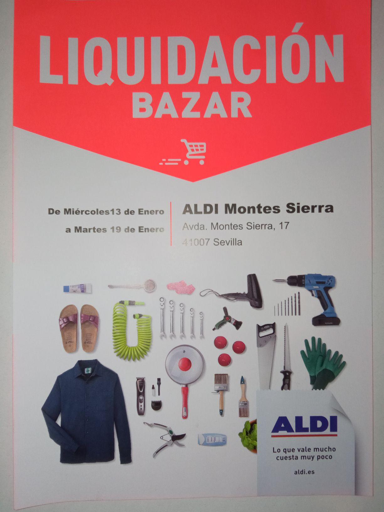 Liquidación Bazar Aldi