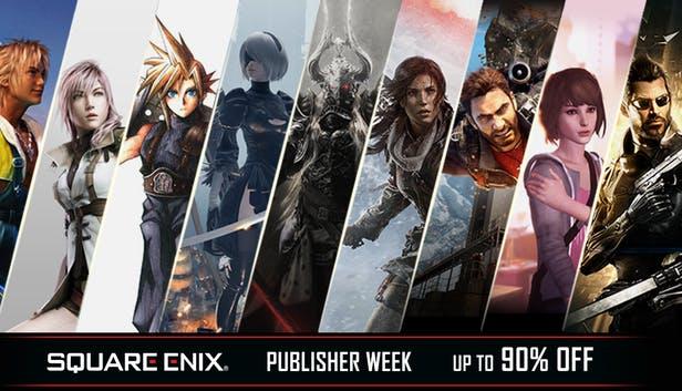Hasta 90% de descuento en Square Enix