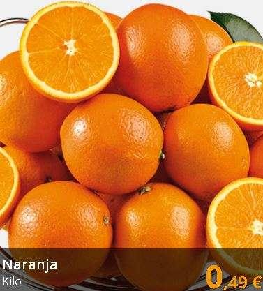 Naranjas origen España, el kilo - Supermercados Gadis