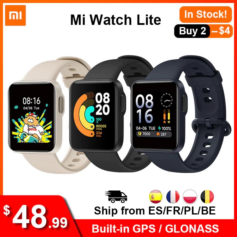 Mi Watch Lite desde España por 38,88€ (pagando con PayPal)