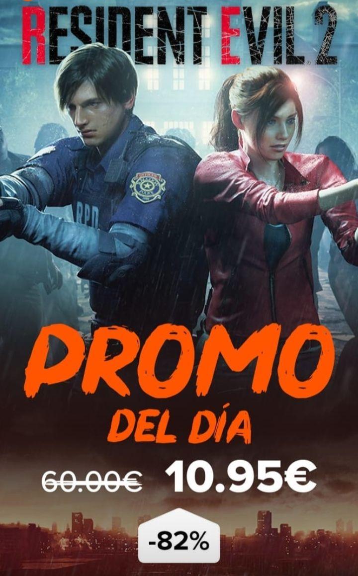 Resident Evil 2 código de Steam en Instant Gaming