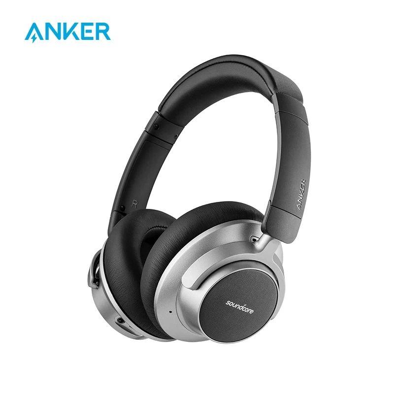 Anker Soundcore Space NC auriculares inalámbricos con cancelación de ruido con Control táctil, autonomía de 20 horas, diseño plegable
