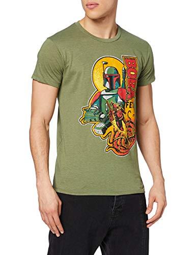 Star Wars Camiseta hombre Boba Fett TALLA S