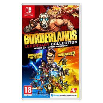 Borderlands Legendary Collection Nintendo Switch por 22,79 € FNAC socios | 23,99 € Amazon