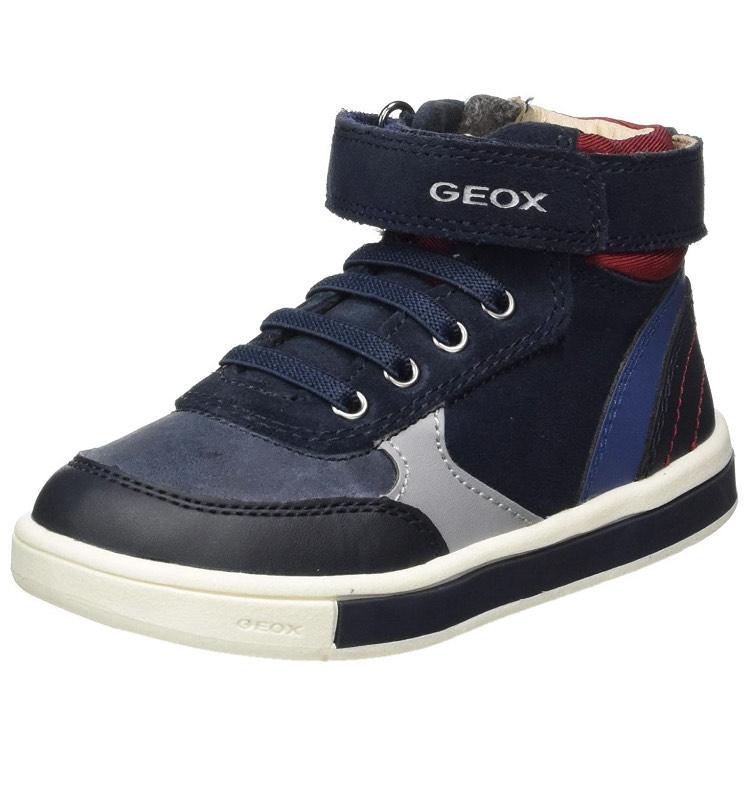 Geox B Trottola Boy D, Sneaker Niños Talla 22
