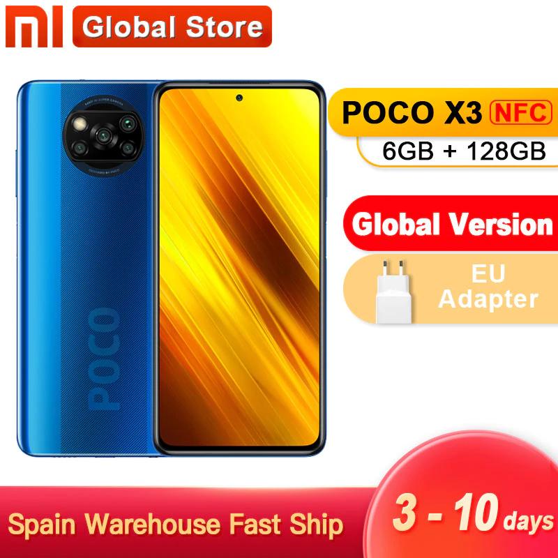 Xiaomi Poco X3 NFC 6GB/128GB - Desde España