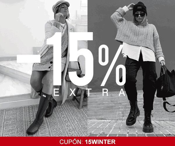 Resta un -15% extra en tu compra