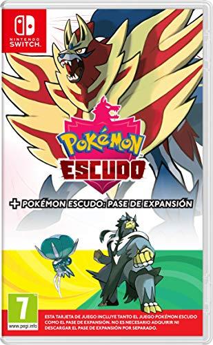 Pokémon Escudo + Pase de Expansión por 59,95 €