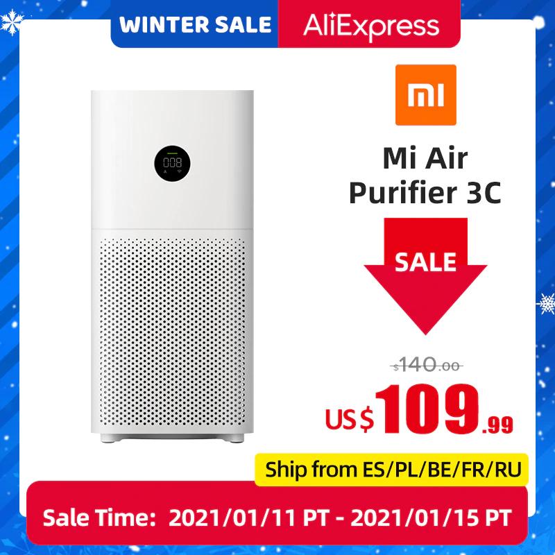 Xiaomi-purificador de aire modelo 3C desde España