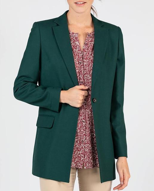 El GANSO Americana lana verde botella.